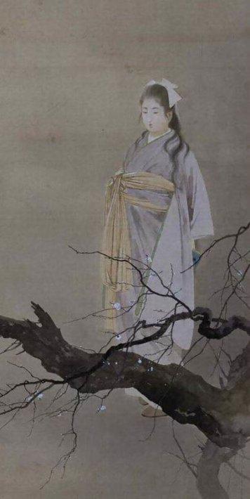Shunshōen (A Widow of in a Spring Evening) by Kajita Hanko