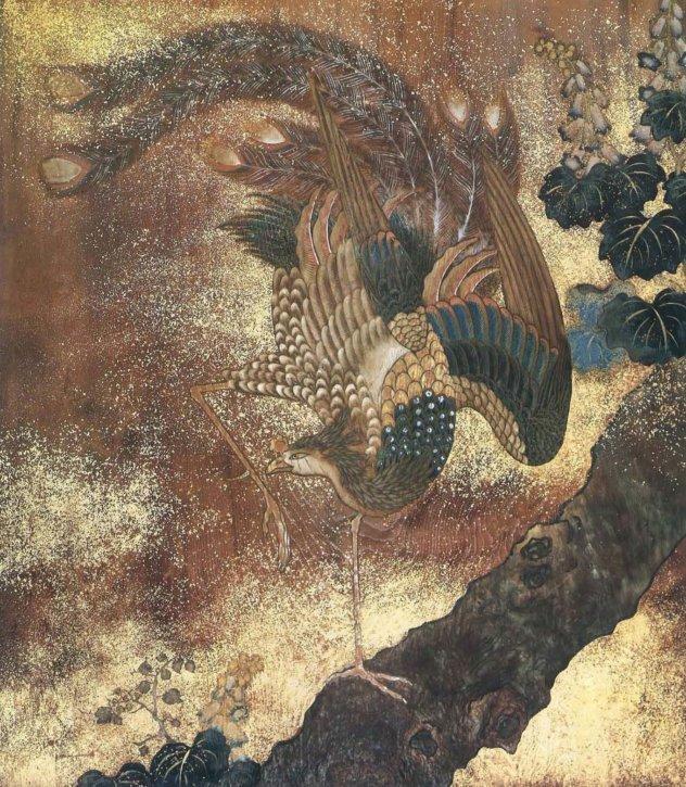Paulownia and Phoenix by Tsubata Michihiko