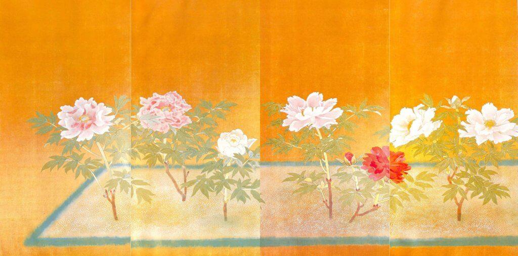 Peony Flowers by Kanashima Keika